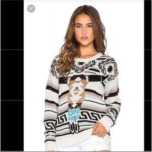 Jen's Pirate Booty Sitting Bull Sweater 🌵